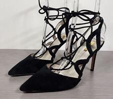 Louise et Cie Juniper Pump, Black Suede, Womens Size 10 / 40M