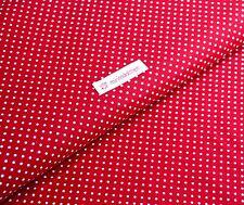 Baumwollstoff 100% Baumwolle Punkte 2mm dots tupfen weiß Stoff Stoffe Kinder