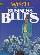 BD  Largo Winch - N°4 -  Business Blues  - E.O - 1993 - TBE - Francq