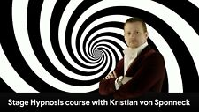Stage Hypnosis Pro Training V1.0 with Kristian von Sponneck On Flash Drive