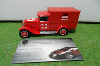 CITROËN C4F 1930 POMPIER AMBULANCE 1/43 SOLIDO MADE IN FRANCE voiture miniature