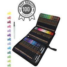 72 Crayons de Couleur Aquarelle pour Dessin d'Art Débutants et Professionnels
