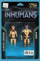 All New Inhumans #1 Action Figure Two Pack Variant Marvel Comics Unread New