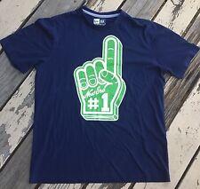 NEW ERA 59 Fifty • Foam Finger #1 Fan • Fly Your Own Flag • Men's T-Shirt LARGE