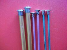 """Aluminum single point knitting needles, 3 sets,  sizes 5, 7 and 13, 14"""" long"""