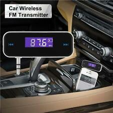 Wireless Music to Car Radio FM Transmitter For 3.5mm MP3 iPod iPhone Tablets V<