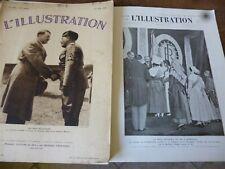 ILLUSTRATION 1934 4764 BORDEAUX JOCKEY CLUB SEM CLERES HONFLEUR HITLER MUSSOLINI