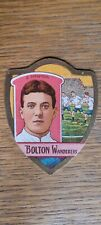 More details for j baines vintage football trading card shield - bolton wanderers - s.newton