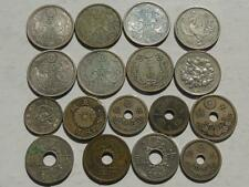 Collection Japanese Coins, Meiji, Showa, 8 in Silver & others, Japanese