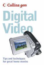 Digital Video : (Collins GEM) :, Colin Barrett, New Book