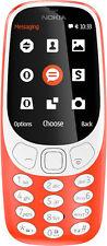 NEW Inspired Nokia 3310 Mobile Phone Dual Sim 2MP Camera