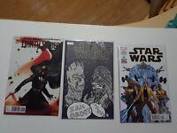 Star wars lot of comics! Custom Sketch cover Darth vader 25, 1 2015 Marvel