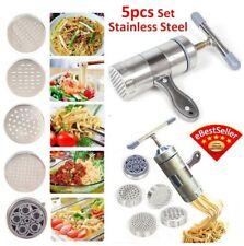 5pcs Set Mold DIY Stainless Steel Noodle Maker Pressure Surface Machine