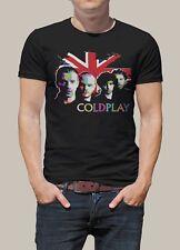 Coldplay Band  Portrai UK Men Printed T-Shirt