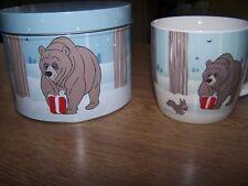 JOHN LEWIS BEAR AND THE HARE XMAS MUG MEGA RARE WITH TIN 2013 VINTAGE COLLECTABL