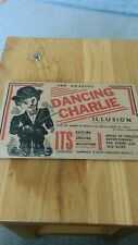 vintage the amazing dancing charlie illusion