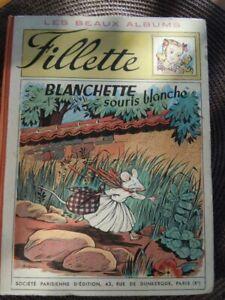 hebdomadaire fillette album reliure éditeur numero 155 au 180 annee 1949