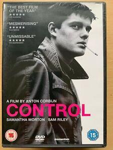 Control DVD 2007 British Ian Curtis Joy Division Biographical Music Drama