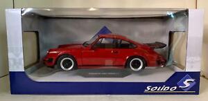 1:18 SOLIDO PORSCHE 911 ROUGE 1977 Ref : S1802604