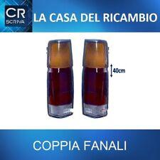 COPPIA DX+SX FANALI STOP POSTERIORI NISSAN KING CAB DAL 1986 AL 1997 ALT. 40cm