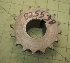 """825538 Chain Coupler Sprocket 1-1/4"""" inch Bore 5/16 Keyway White Oliver AGCO #50"""