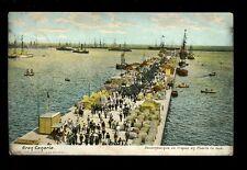 Spain Gran Canaria PUERTO LA LUZ Troops disembarking 1906 u/b PPC