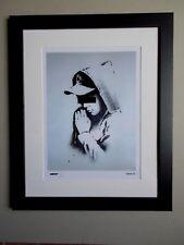 """Gravure ,  Banksy , """" Forgive Us """" Tirage 300 Exemplaires numérotés"""