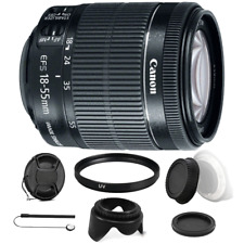 Canon EF-S 18-55mm IS STM Lens with Accessories For Canon T6 , T6i and T7i