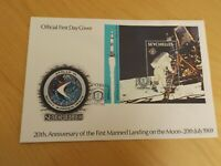 first day stamp cover seychelles 1989 20th anniv 1st manned landing on moon