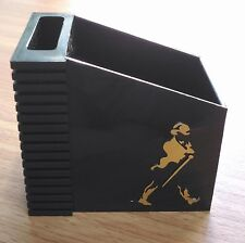 RARE COLLECTION JOHNNIE WALKER BLACK LABEL TABLETOP ORGANIZER PEN CADDY HOLDER