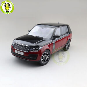 1/18 LCD Land Rover Range Rover 2020 Diecast Model Car Toys Boys Gifts Red Black
