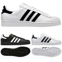 Adidas Originals Mens Superstar 2 Trainers Retro Style Shoes UK Sizes 7 - 12
