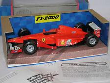 hotwheels 1/24 ferrari f1-2000 - michael schumacher - boxed
