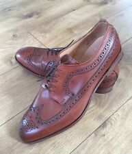 NEW ALFRED SARGENT FOR JCREW AMERICAN BROGUES MAHAGON BROWN 02800 11.5 $535 RARE