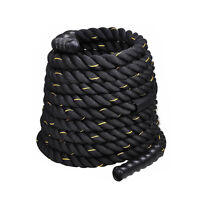 "1.5"" Poly Dacron 40 ft Battle Rope Exercise Workout Strength Training Undulation"