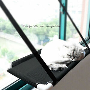 Pet Cat Window Mounted Durable Soft Seat Hammock Perch Bed Hold Up To 10KG US