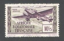 French Equatorial Africa 1937,Air Post 10.75fr, Scott # C8,VF-XF MNH**OG (K-8)