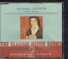 MICHAEL JACKSON Earth Song Wanna Be Startin' Somethin' REMIXES CD MAXI
