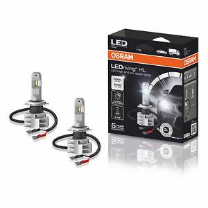 6000K Cool White Headlight Bulb Kit 67210CW OSRAM LEDriving HL Gen 2 H7 LED
