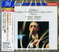 OTMAR SUITNER.BERLIN STAATSKAPELLE-SYM. 9. : SCHUBERT-JAPAN HQCD C94