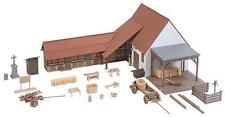 Faller HO 191707 Landwirtschaftliches Gebäude mit Zubehör #NEU in OVP##