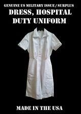 WOMEN'S 6L DRESS HOSPITAL WHITE DUTY NURSE NURSE'S ORDERLY MEDICAL US MILITARY