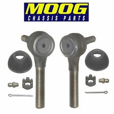 For Volkswagen Beetle Karmann Ghia Pair Set of 2 Front Outer Tie Rod Ends MOOG