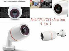 HD 1080P 2.0MP AHD Camera Security CCTV 180 Degree Fisheye IR Bullet lens +OSD