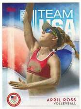 2016 Topps US Olympic Team USA Hopefuls #16 April Ross  Volleyball