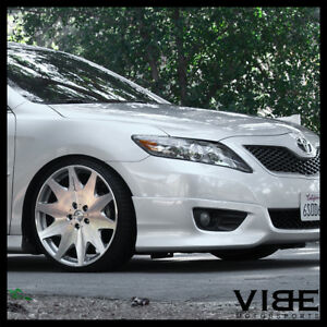 """19"""" MRR HR3 SILVER VIP CONCAVE WHEELS RIMS FITS TOYOTA CAMRY"""