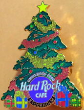 Hard Rock Cafe STOCKHOLM 2000 CHRISTMAS PIN Tree with Ornaments LE 750 HRC #9307