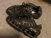 Damen Sneaker Schuhe Nike Shox TL Schwarz Gr. 37.5