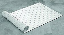 Suction Grip Rubber Bath Mat, Plastic, Ice White, 70 x 40 cm