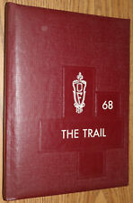 YEARBOOK - Old Fort High School OH - 1968 The Trail Ohio